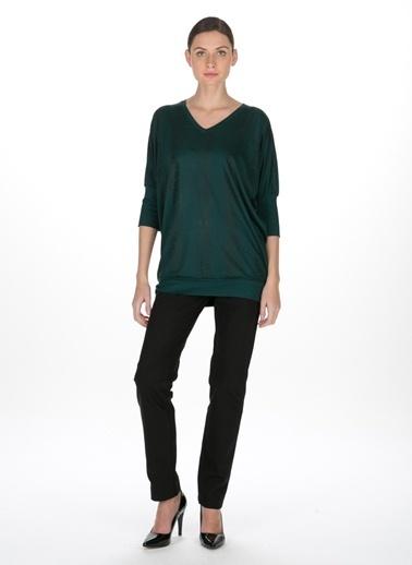 Beymen Studio Bluz Yeşil